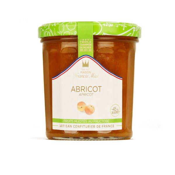 Confiture d'abricot allegée en sucre - Francis Miot