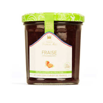 Maison Francis Miot - Strawberry jam sugarless - Francis Miot