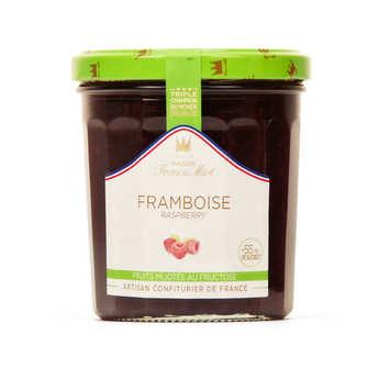 Maison Francis Miot - Confiture de framboise allegée en sucre - Francis Miot