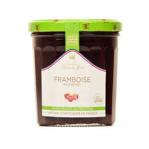 Raspberry jam sugarless - Francis Miot