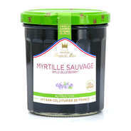 Maison Francis Miot - Wild Blueberry Jam Sugarless - Francis Miot