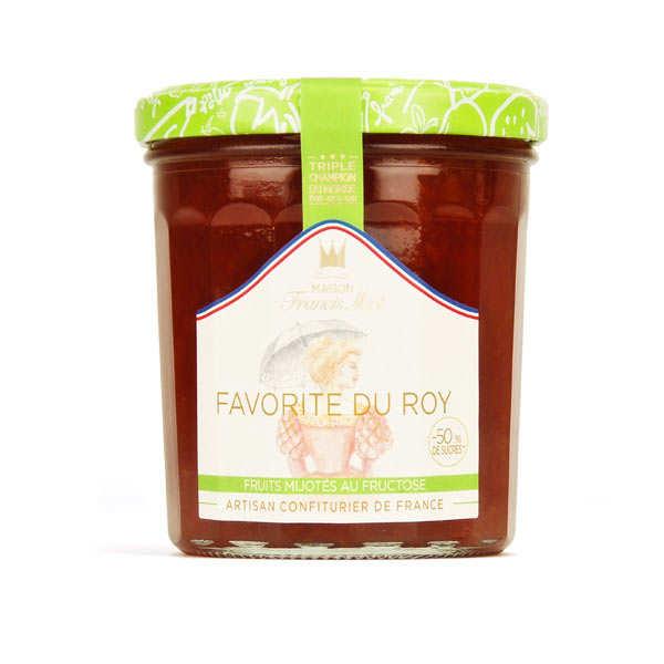Confiture Favorite du Roy allegée en sucre - Francis Miot
