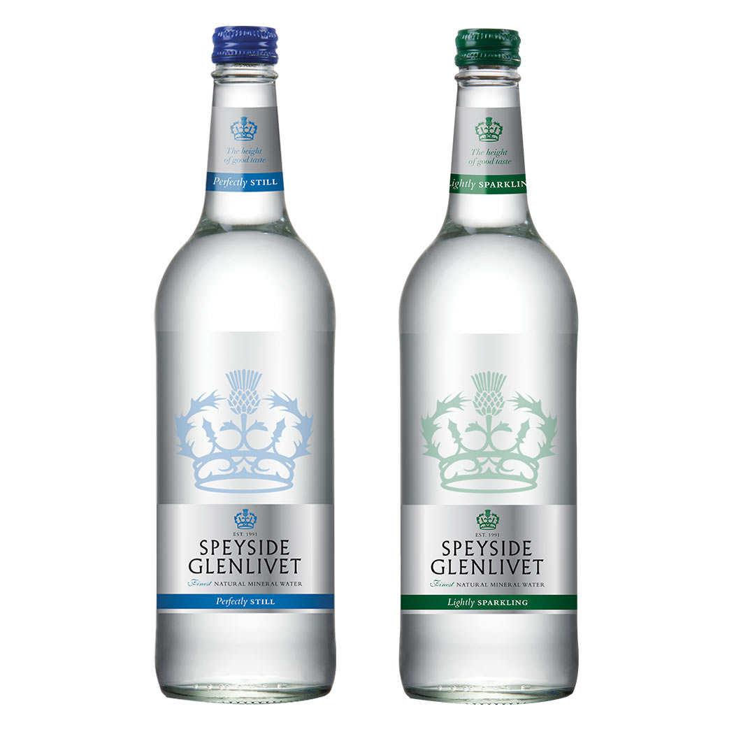 Speyside Glenlivet - Scottish water for whisky