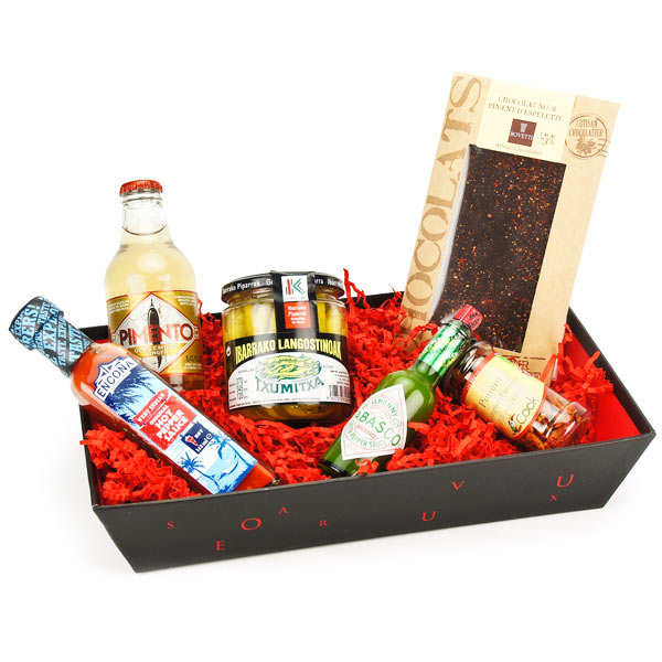 Hot flavour hamper