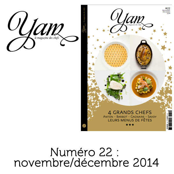 French magazine about cuisine - YAM n°22