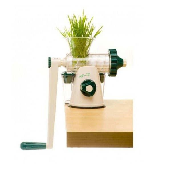 Healthy wheatgrass juicer