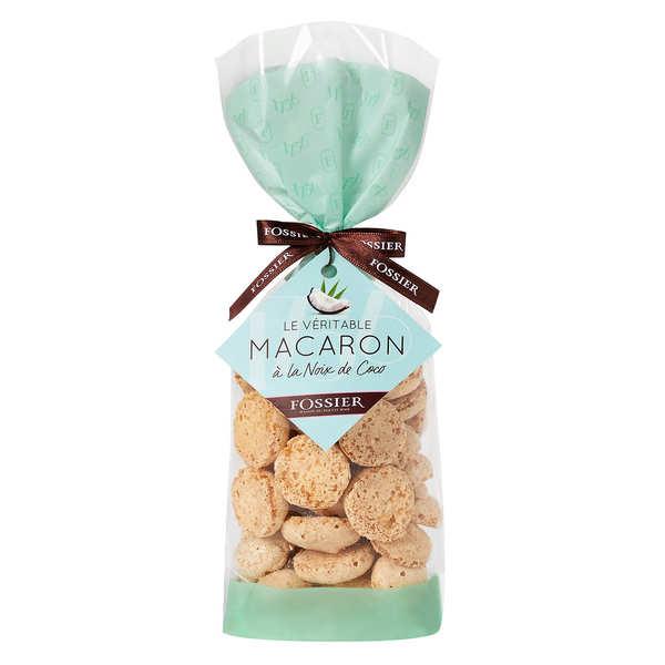 Macarons noix de coco au chocolat  - Maison Fossier