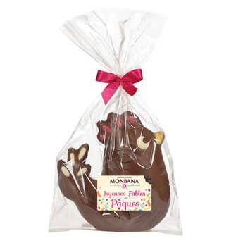 Monbana Chocolatier - Poule Charlotte en chocolat au lait