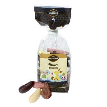 Belledonne Chocolatier - Friture de Pâques 4 couleurs bio