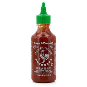 Huy Fong Foods - Hot Sriracha Huy Fong Chilli Sauce
