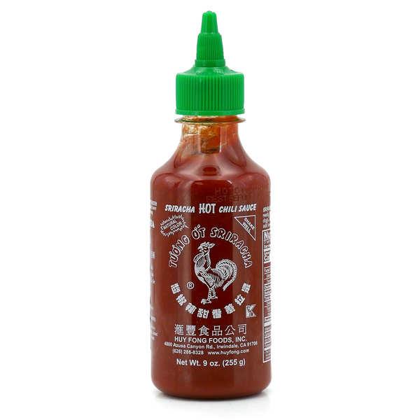 Hot Sriracha Huy Fong Chilli Sauce