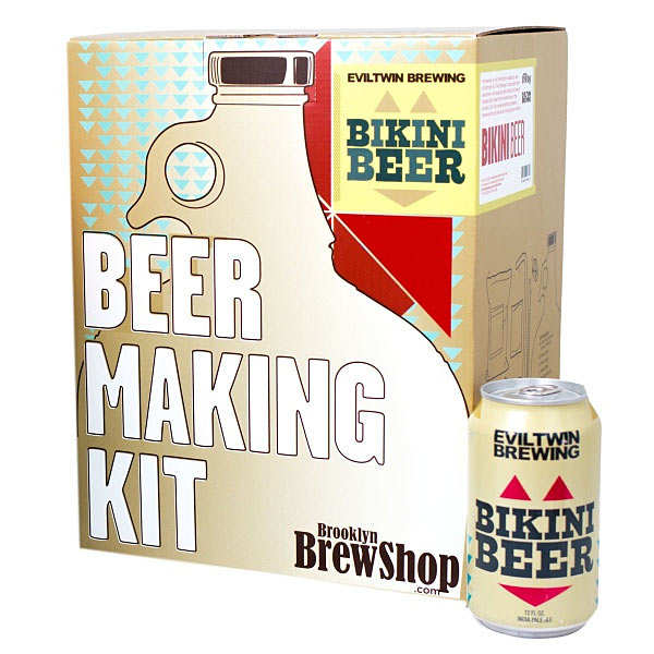 kit de fabrication bi re blonde evil twin bikini beer 2 7 brooklyn brew shop. Black Bedroom Furniture Sets. Home Design Ideas