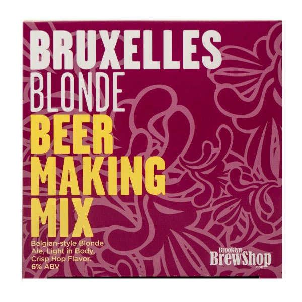 Recharge pour fabrication de bière blonde Bruxelles 6%