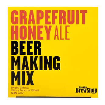 "Brooklyn Brew Shop - Beer making mix  ""Grapefruit Honey Ale""  - 5.5%"