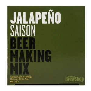 Brooklyn Brew Shop - Recharge pour fabrication de bière blonde au piment Jalapeno - 6%