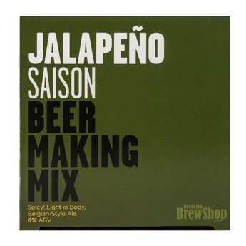 "Brooklyn Brew Shop - Beer making mix  ""Jalapeno saison""  - 6%"