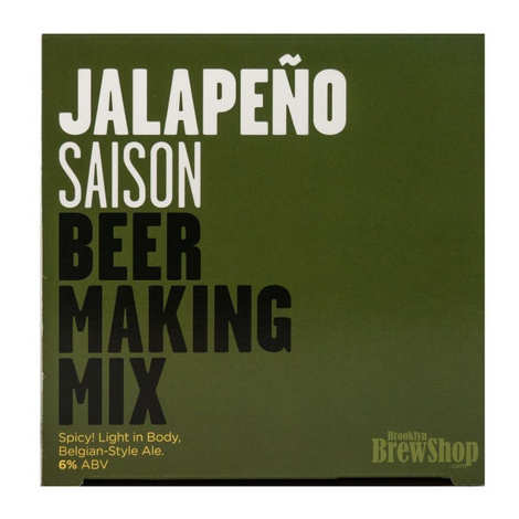 "Brooklyn Brew Shop - Beer making mix  ""Jalapeno saison""  - 6%"