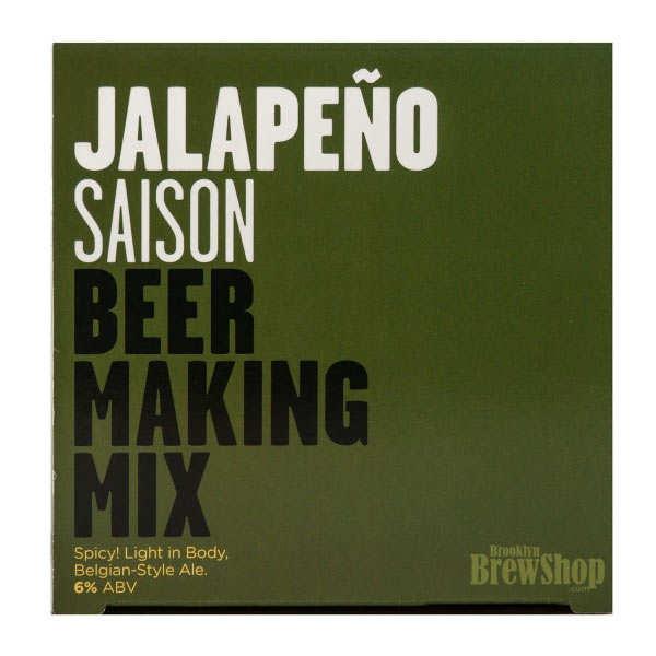 Recharge pour fabrication de bière blonde au piment Jalapeno - 6%