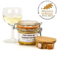 Whole Duck Foie Gras - Dordogne