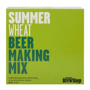 "Brooklyn Brew Shop - Recharge pour fabrication de bière blonde ""Summer Wheat"" - 5.5%"