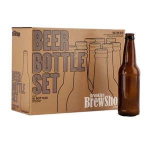 Brooklyn Brew Shop - 10 beer bottles