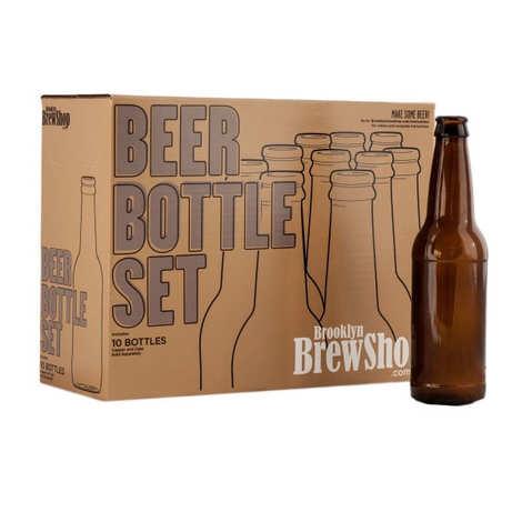 Brooklyn Brew Shop - 10 bouteilles de bières vides pour brassage
