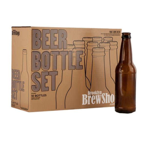 10 bouteilles de bières vides pour brassage