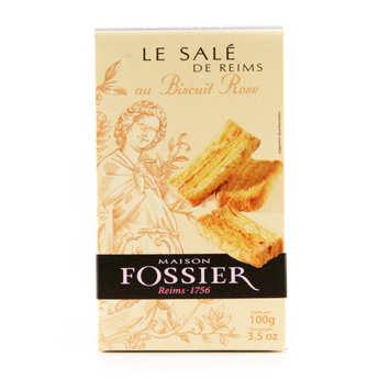 Biscuits Fossier - Le salé de reims  - Maison Fossier
