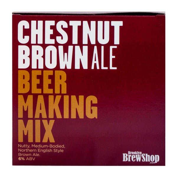 Recharge pour fabrication de bière brune à la châtaigne - 6%