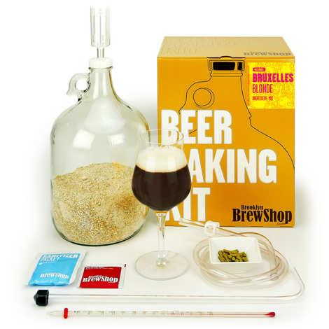 "Brooklyn Brew Shop - Kit de fabrication de bière ""Bruxelles Blonde"""