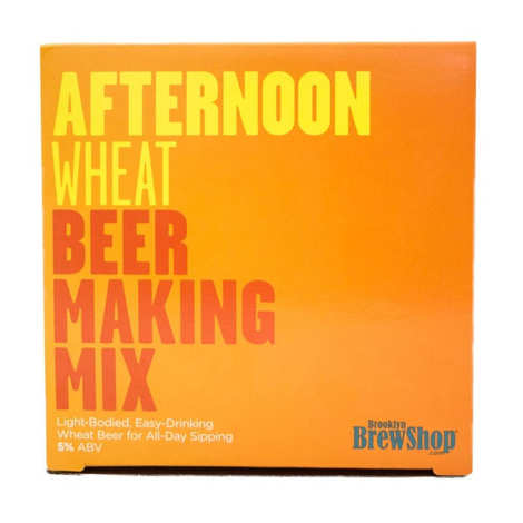 """Brooklyn Brew Shop - Beer making mix """"Afternoon wheat"""""""