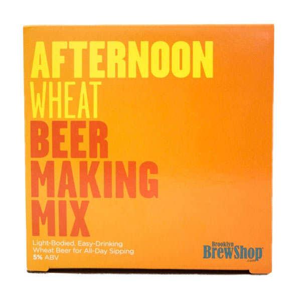 """Recharge pour fabrication de bière """"Afternoon wheat"""""""