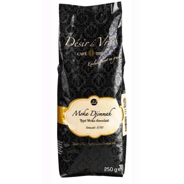 Coffee in beans Moka Djimmah