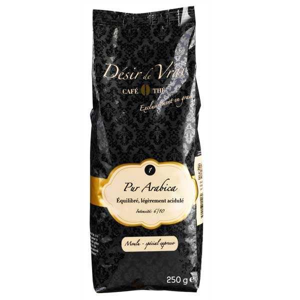 Café moulu pur arabica