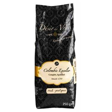 Ground Coffee in beans Colombie Excelso