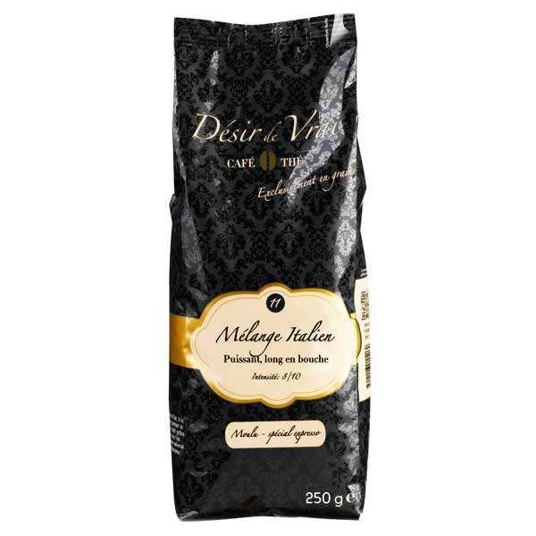 Café moulu mélange italien