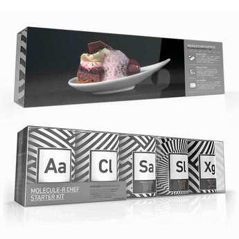Saveurs MOLÉCULE-R - Pack de cuisine moléculaire Professionnel Chef Starter Kit