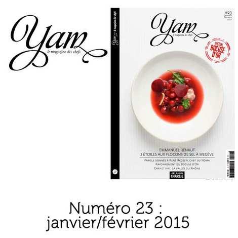 Yannick Alléno Magazine - French magazine about cuisine - YAM n°23
