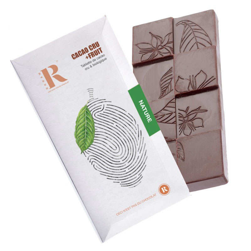 Organic and Raw Chocolate Bar from Perou