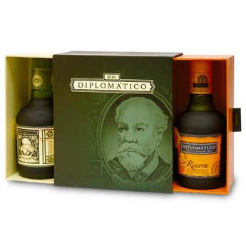 Destilerias Unidas - Coffret rhum Diplomatico 2 bouteilles de 35cl (Reserva + reserva exclusiva)