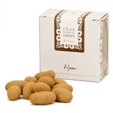Rrraw - Cocoa beans with raw chocolate bar