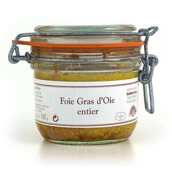 Foie gras d'oie entier de Dordogne