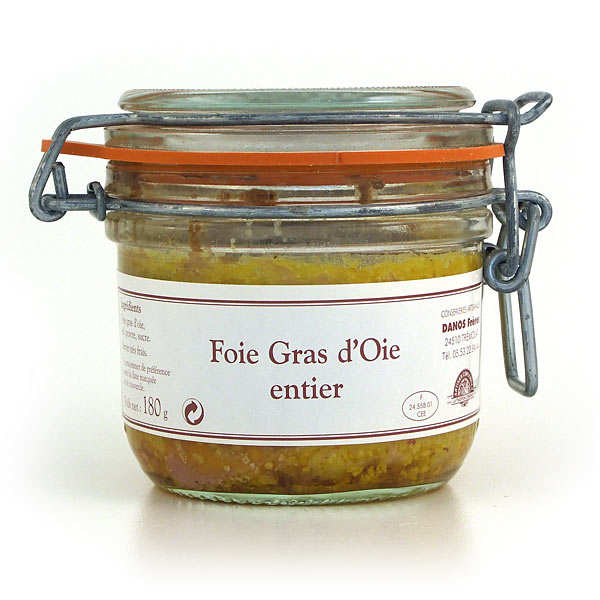 Whole Goose Foie Gras from Dordogne