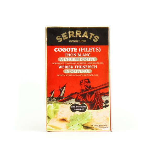 Cogote bonito del Norte - Filets de thon blanc germon - huile d'olive
