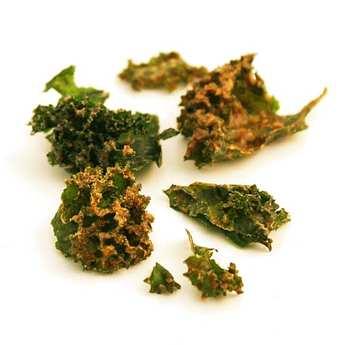 Happy Crulture - Organic raw kale crisp with mustard