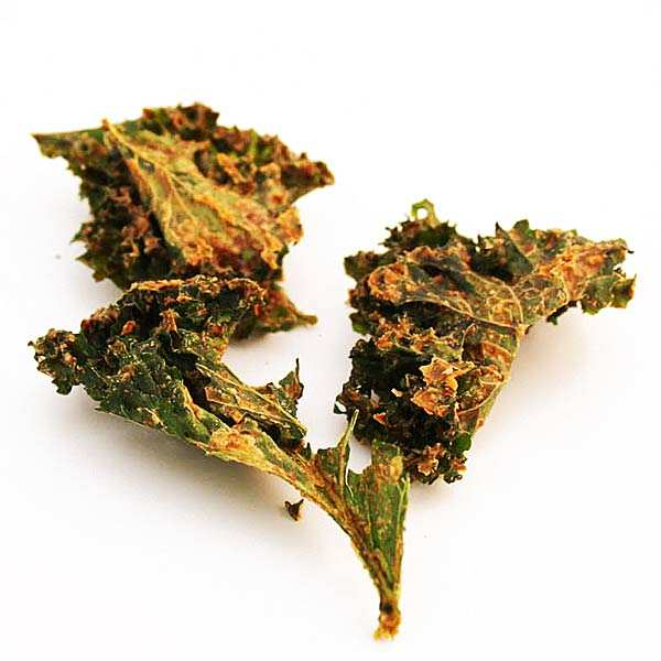 Organic raw kale crisp Red Cheezy with cheddar
