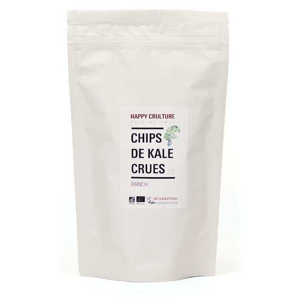 Chips de kale crues bio saveur ranch