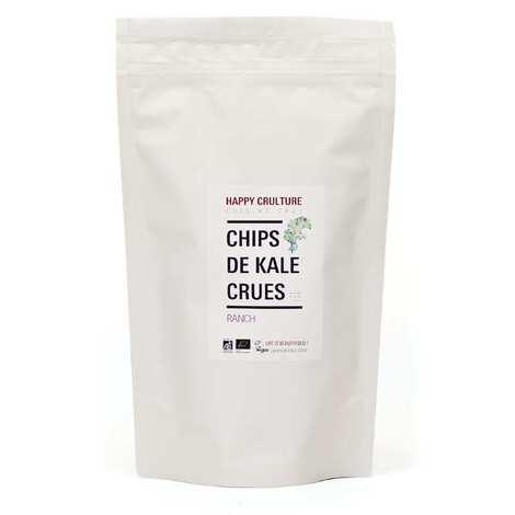 Happy Crulture - Chips de kale crues bio saveur ranch