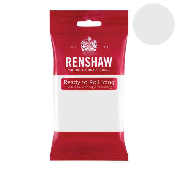 Pâte à sucre blanche covering paste - Renshaw