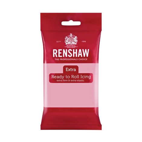 Renshaw - Pâte à sucre rose - Renshaw Extra